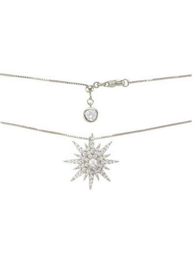 Rockstar Necklace - Silver