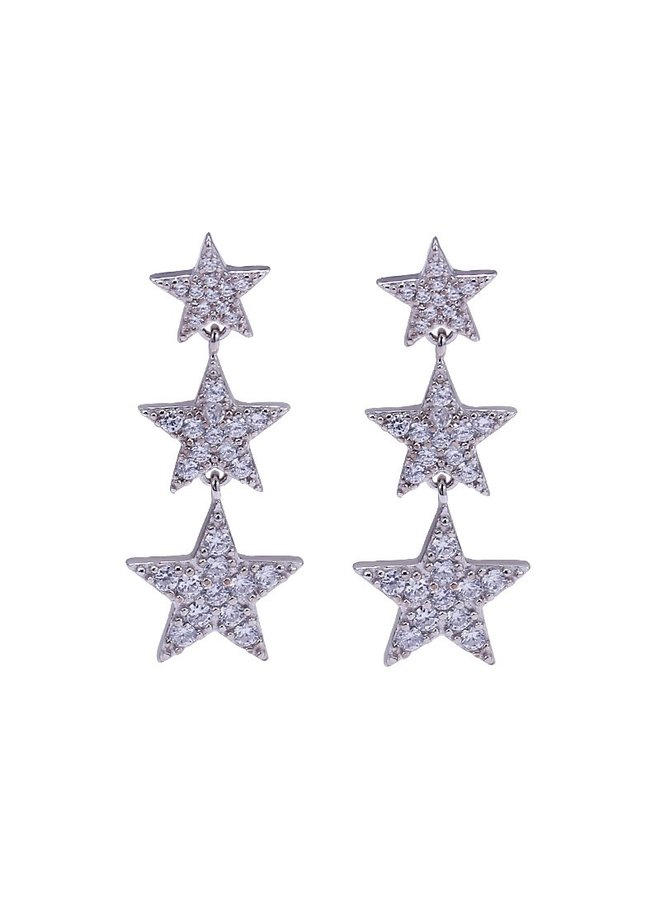 Little Nights Earrings - Silver