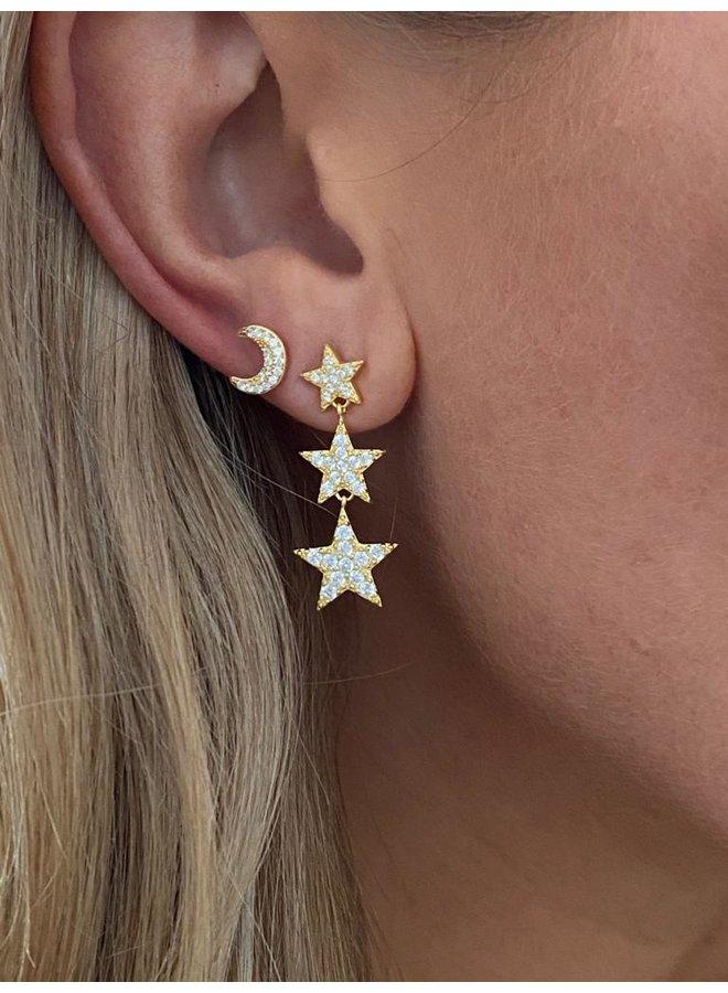 Little Nights Earrings - Gold