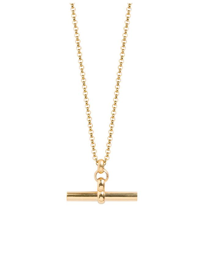 Medium Gold T-Bar 50cm