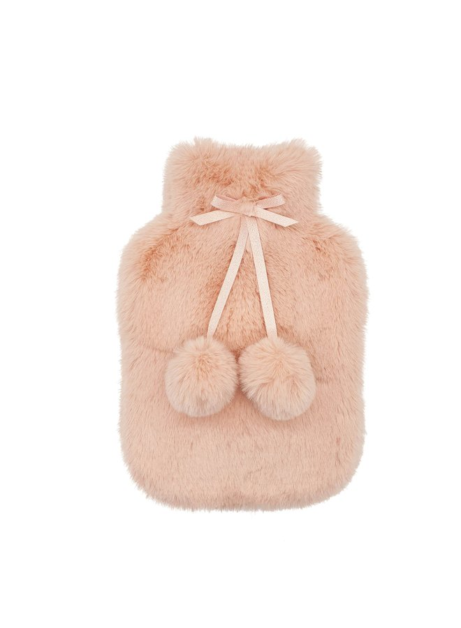 Hot Water Bottle Cover - Nude