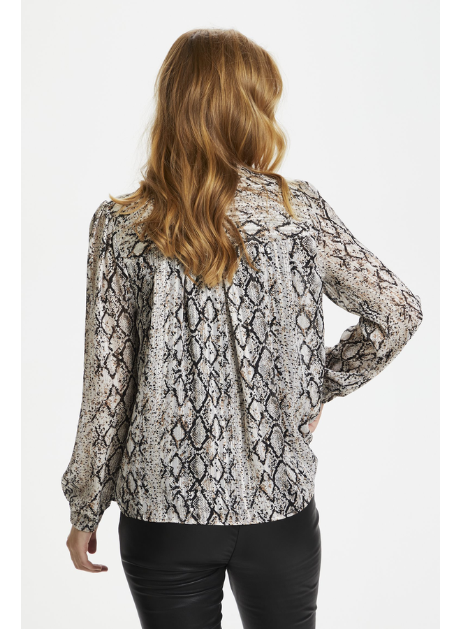 Devina Blouse - Toffee