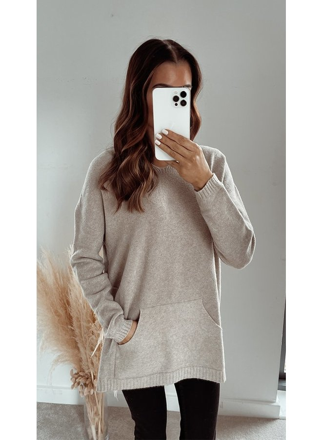 Sunday Hooded Top - Camel
