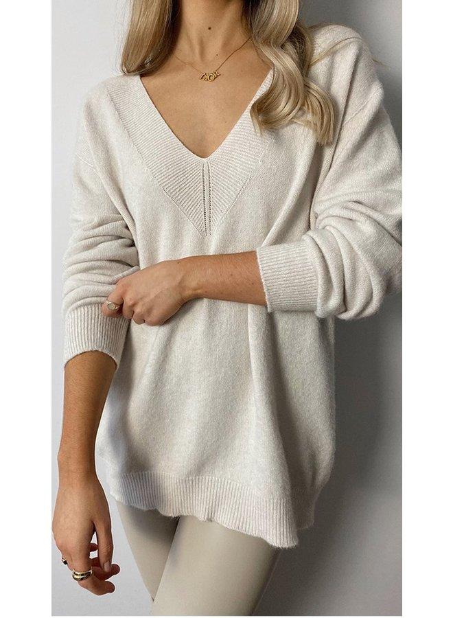 Ivy Sweater - Ivory