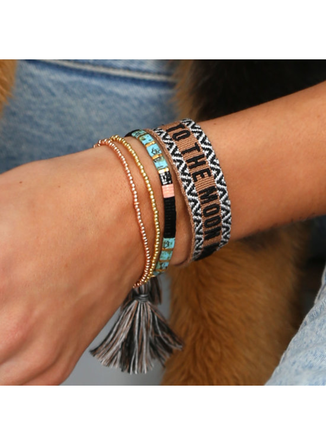 Woven bracelet To the Moon and Back