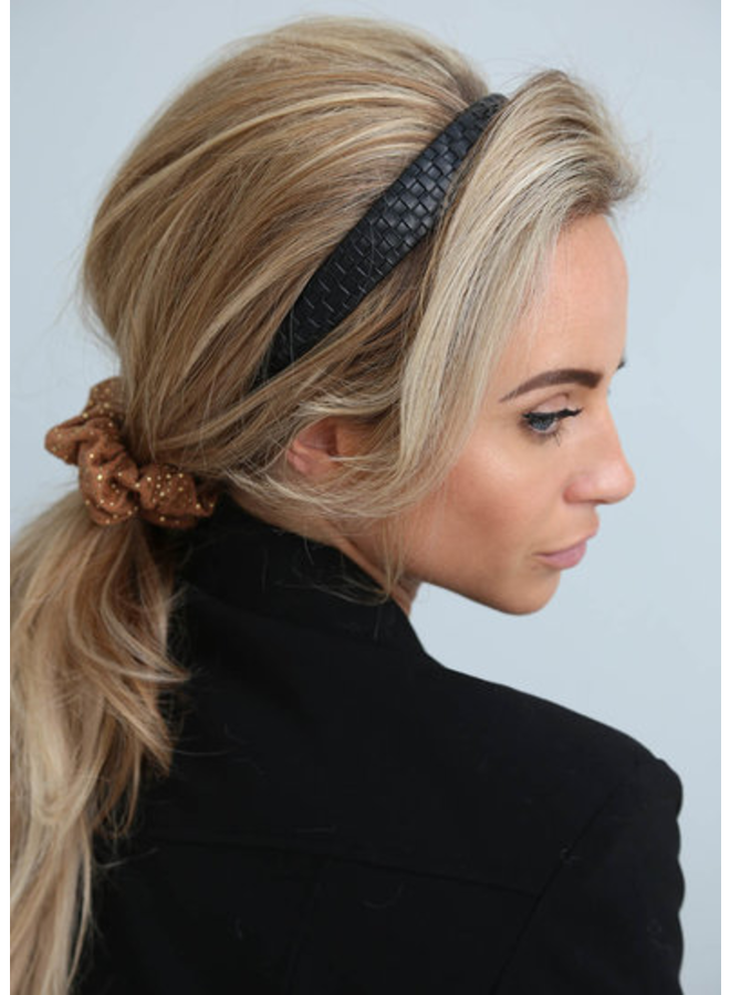 Braided Hairband - Black