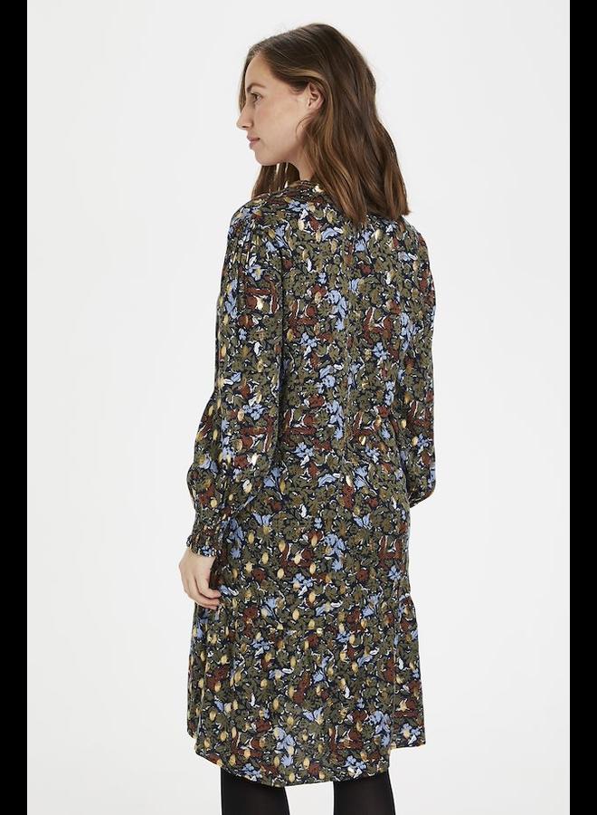 Giselle Dress - Blue Iris