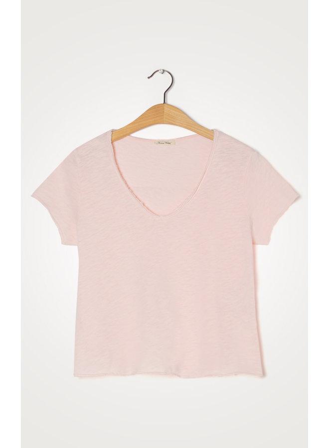 Sonoma V-neck T-shirt - Rosee Vintage