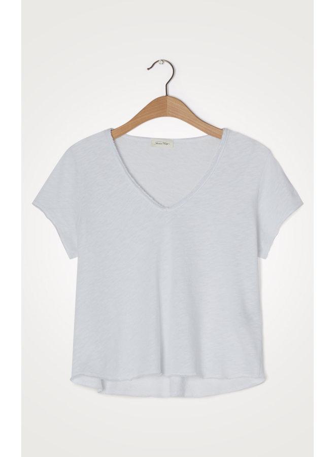 Sonoma V-neck T-shirt - Blanc