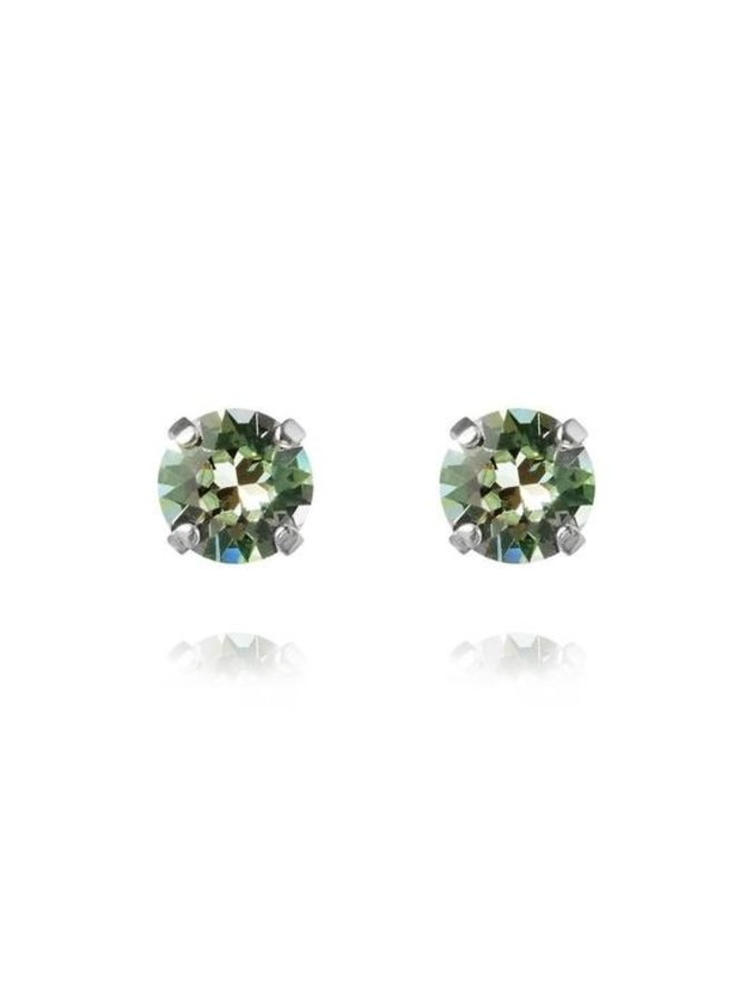 Classic Stud Earring - Gold Chrysolite