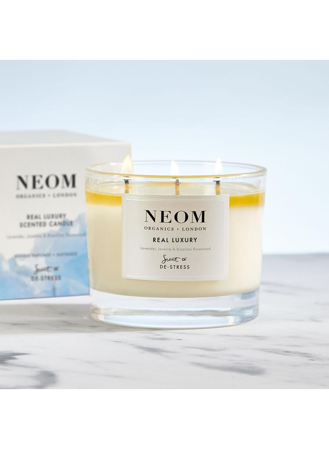 3 Wick Real Luxury Candle