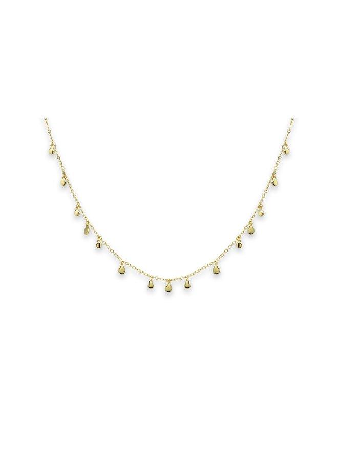 SSCHGLD3 Armagnac Neckace - Silver/Gold