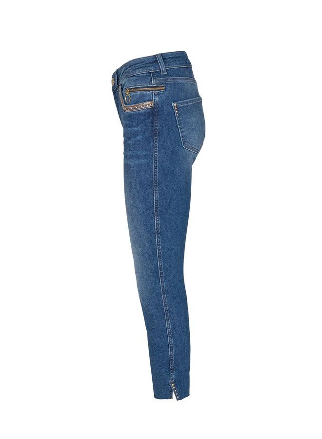 Sumner Shine Ankle Jeans - Blue