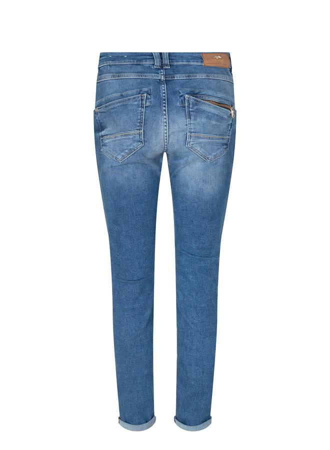 Naomi Wave Regular Jeans - Blue