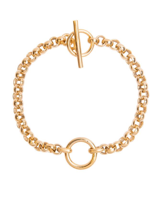 TSJ2890 Small Eternity Bracelet - Gold