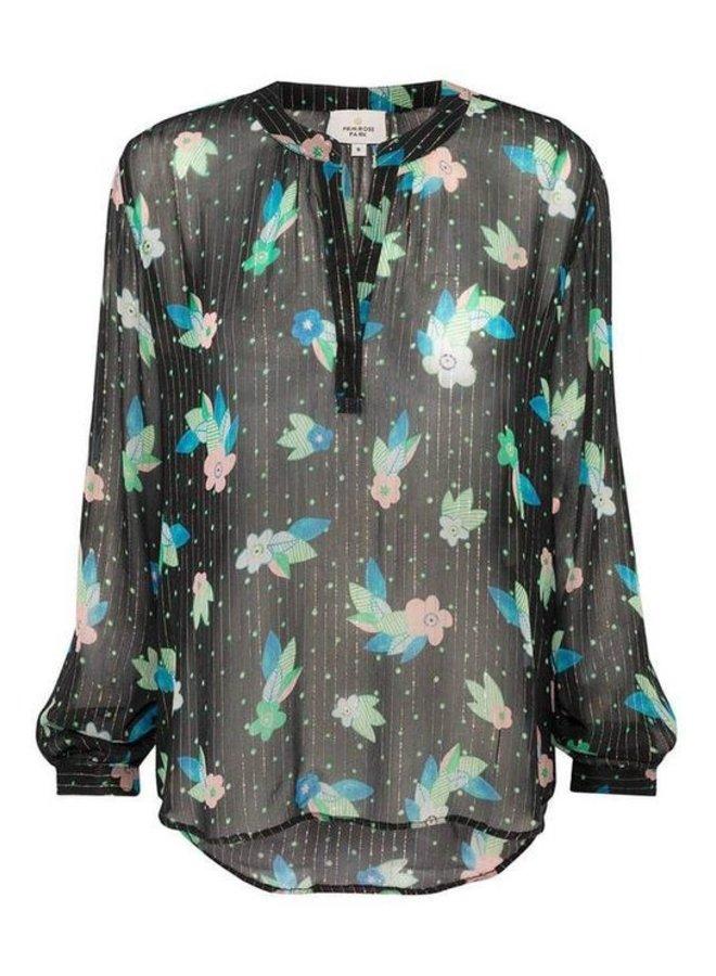 Sandy Open Shirt Lurex