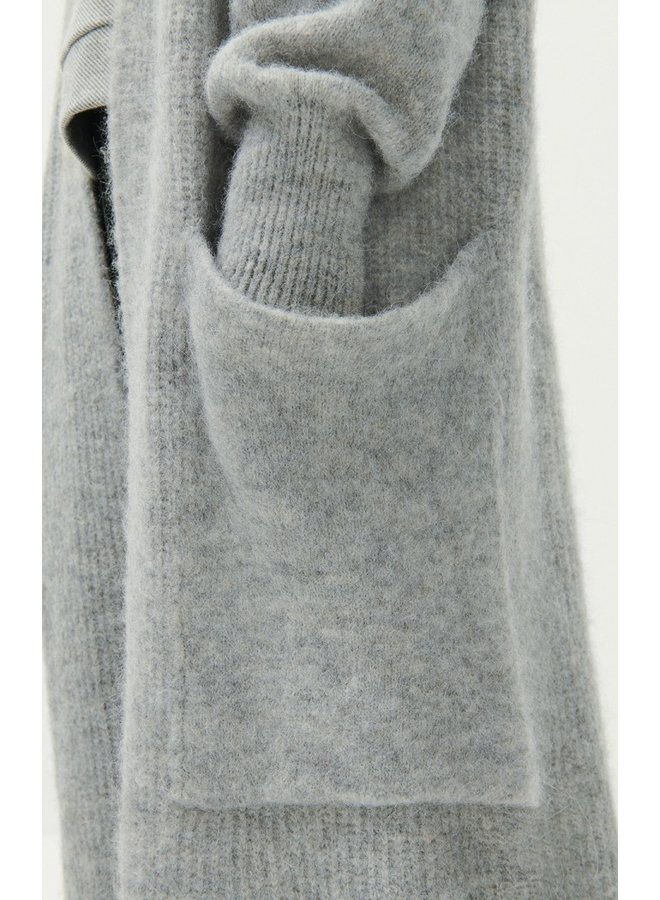 East 19B Knit - Grey Melange O/S