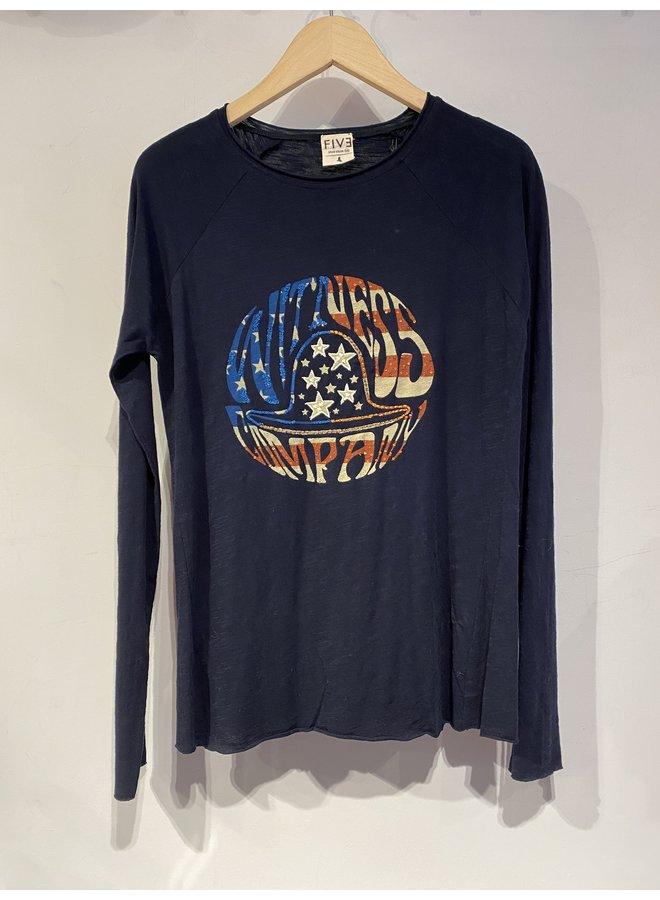 Stars and Stripe T-shirt - Navy