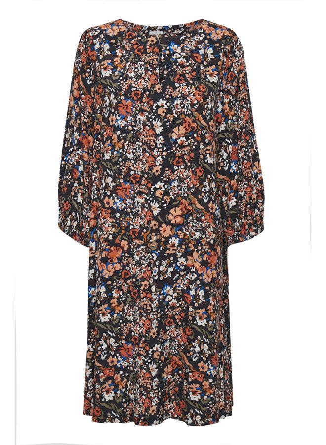 Ebon Dress - Blue Artica