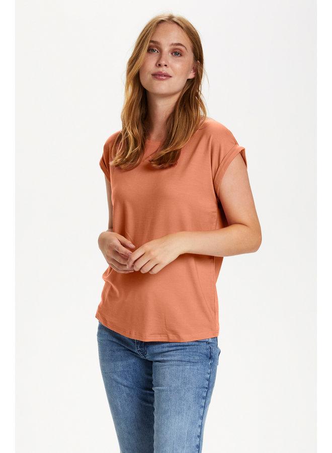 Adelia T-Shirt - Terra Cotta