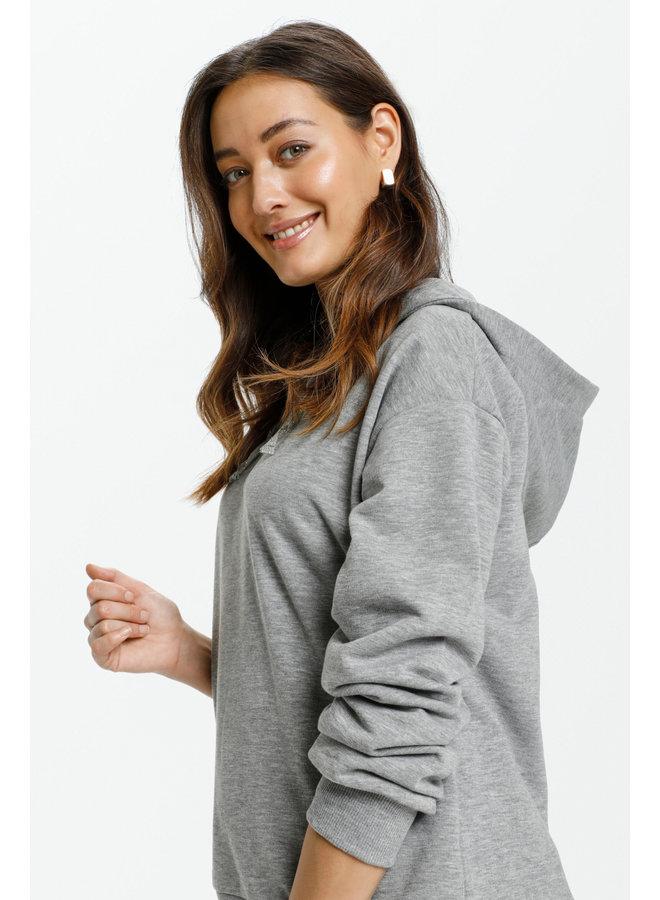 Vega Hoodie - Grey Melange