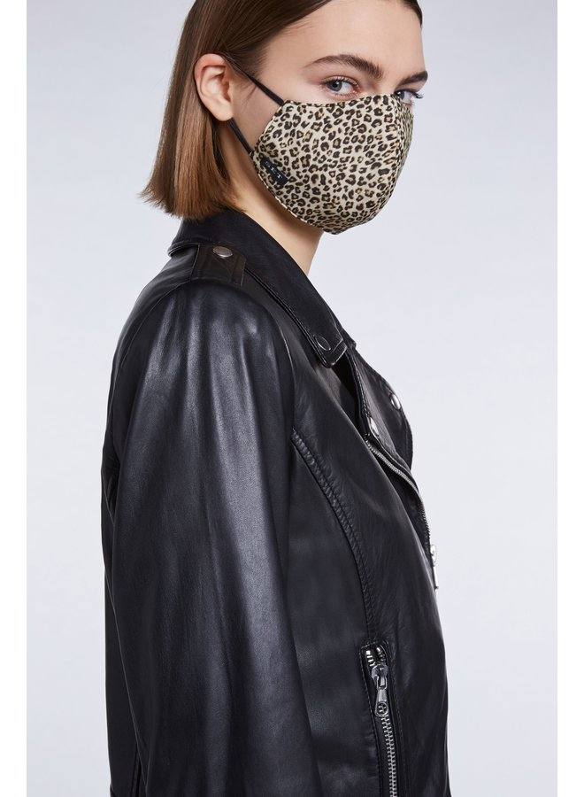 Animal Print Face Covering - Classic Leo
