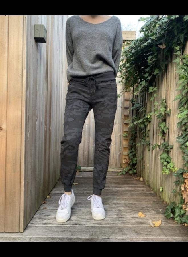 Camo Joggers - Grey