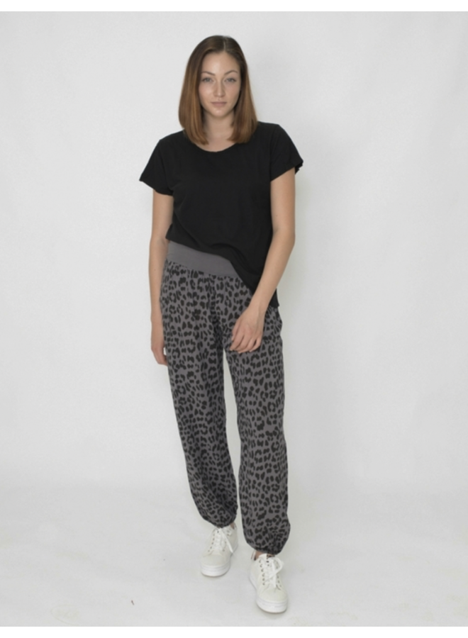 Abstract Slouchies - Grey Leo