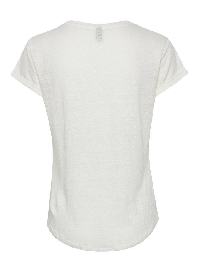 Angla T-shirt - Spring Gardenia