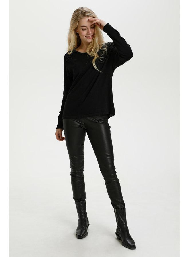 Annemarie Solid Jumper - Black