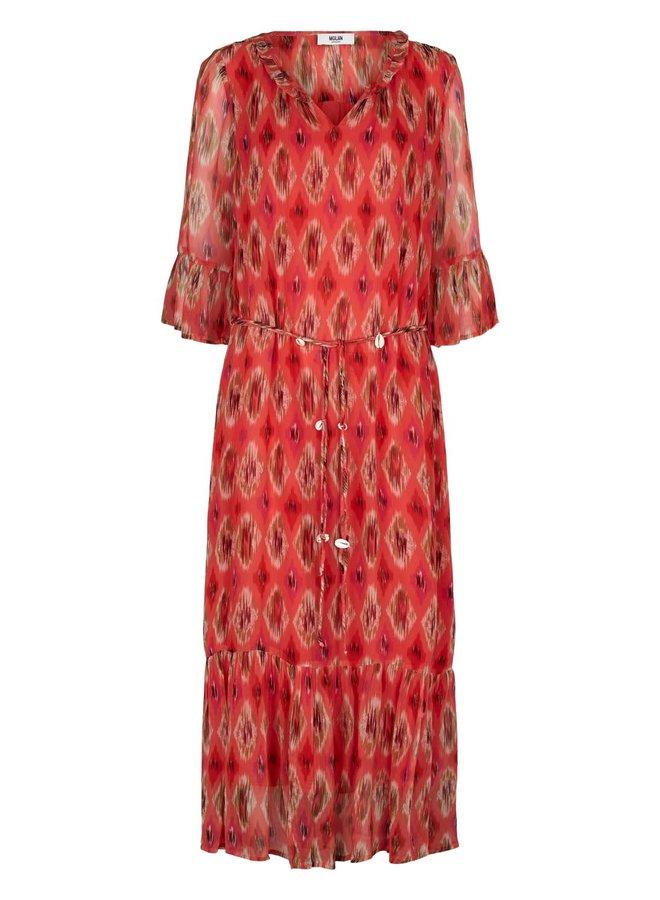 Vicki Dress - Calypso Coral