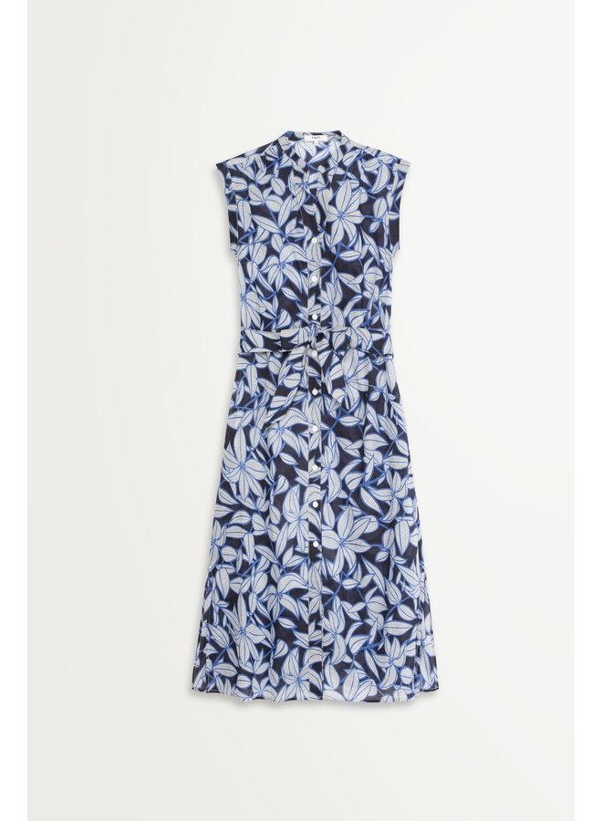 Charliz Dress - Blue Night