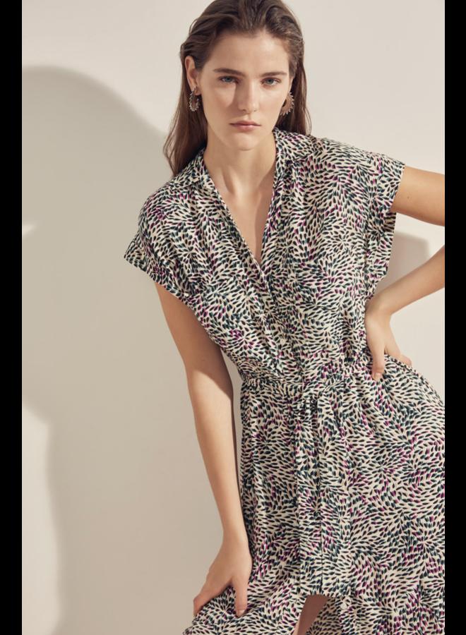 Chiara Dress - Blanc Casse