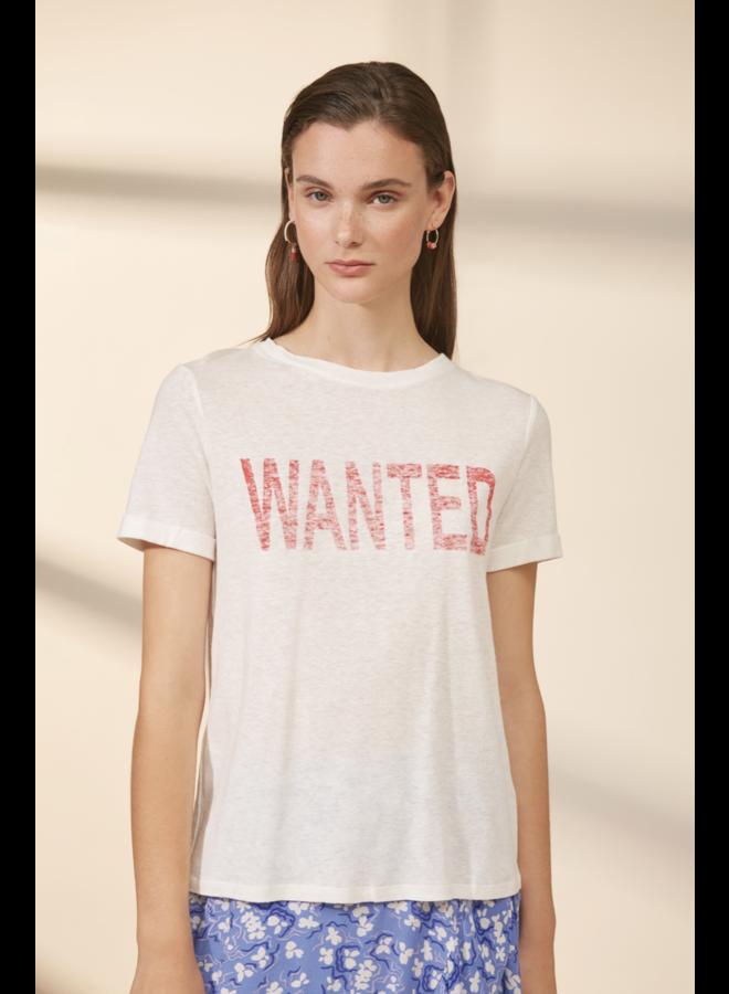 Mayron 'Wanted' Tee - White