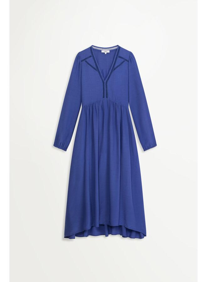 Cassia Dress - Blue Royale