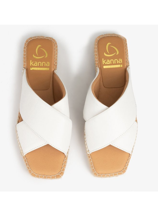 Amber Napa Riva Sandals - Nebbia