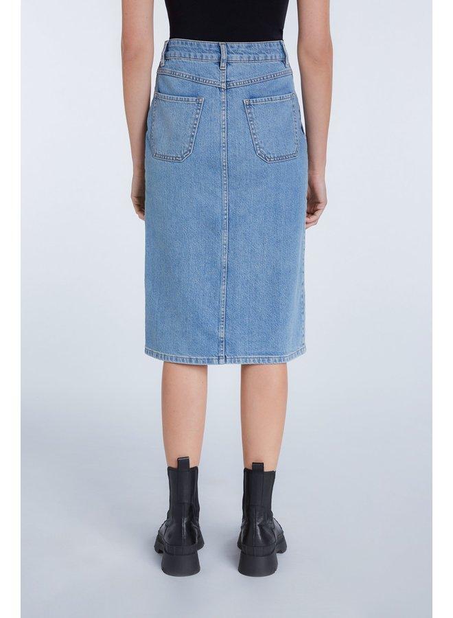 Denim Skirt - Demin Surf Blue