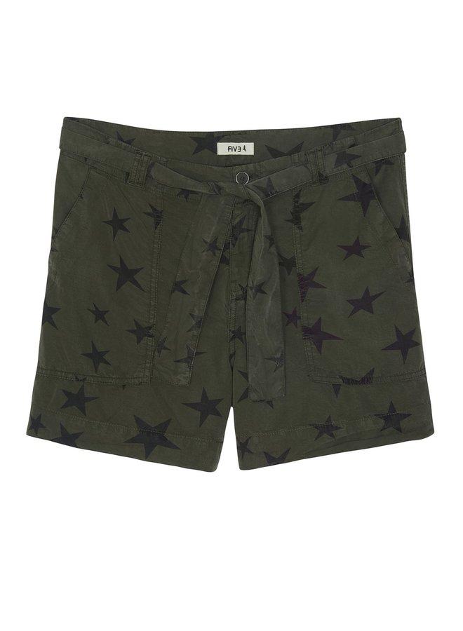 Feliz Solid Shorts - Khaki