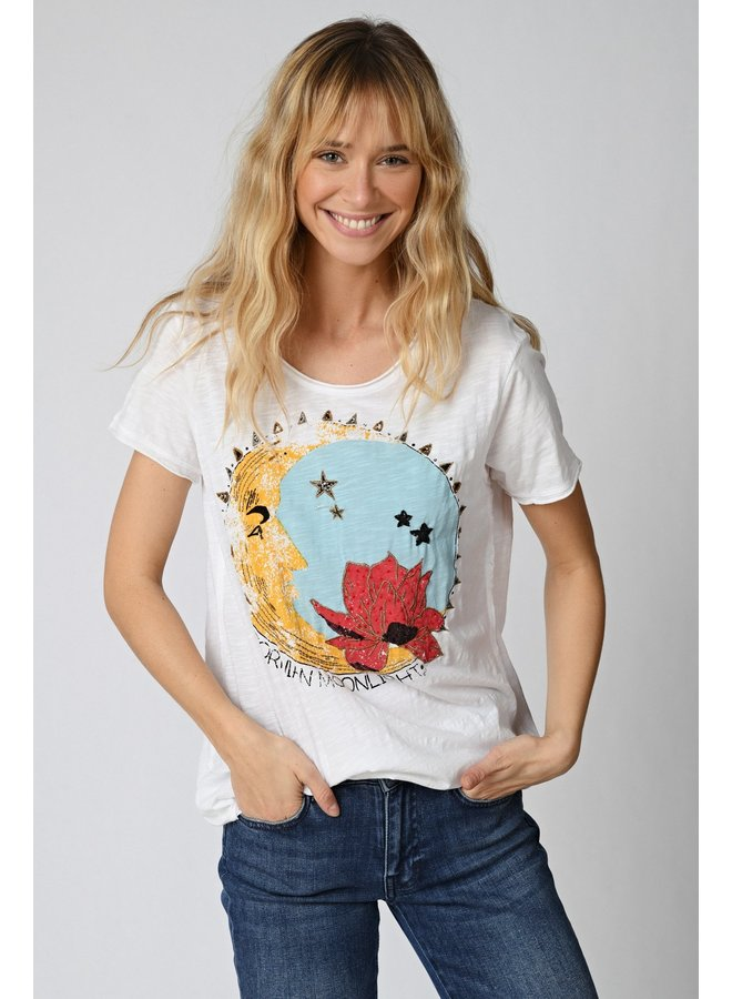 California Moolight T-shirt - White