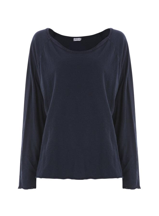 Raglan T-Shirt - Navy O/S