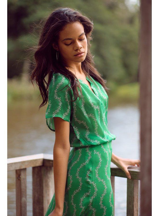 Lauren Skirt - Garland Green