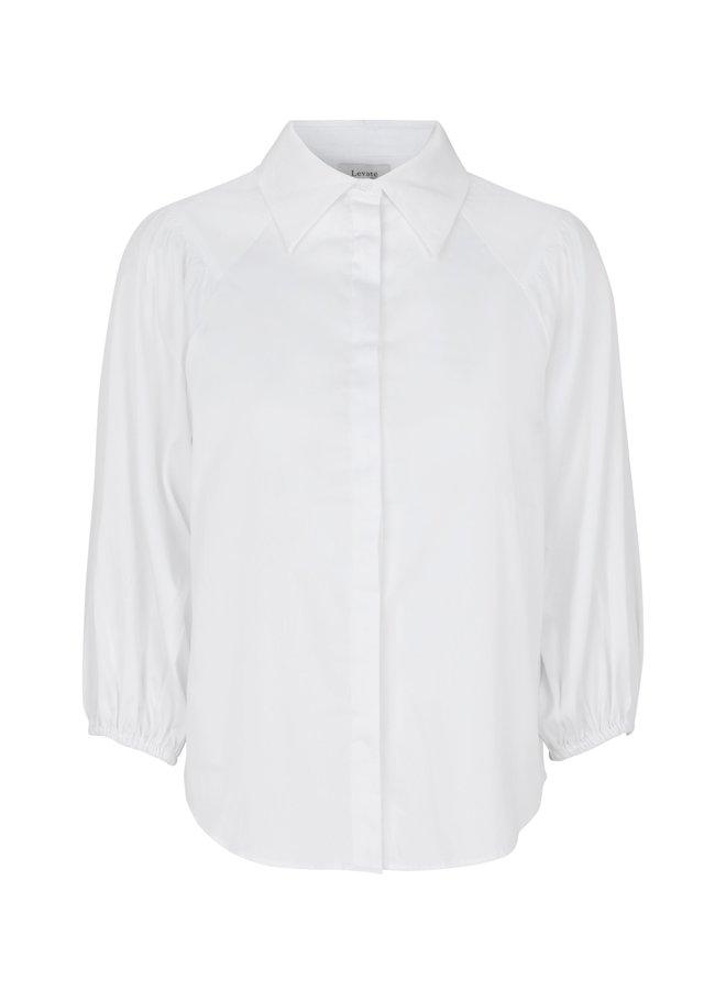 Isla Solid Shirt - White