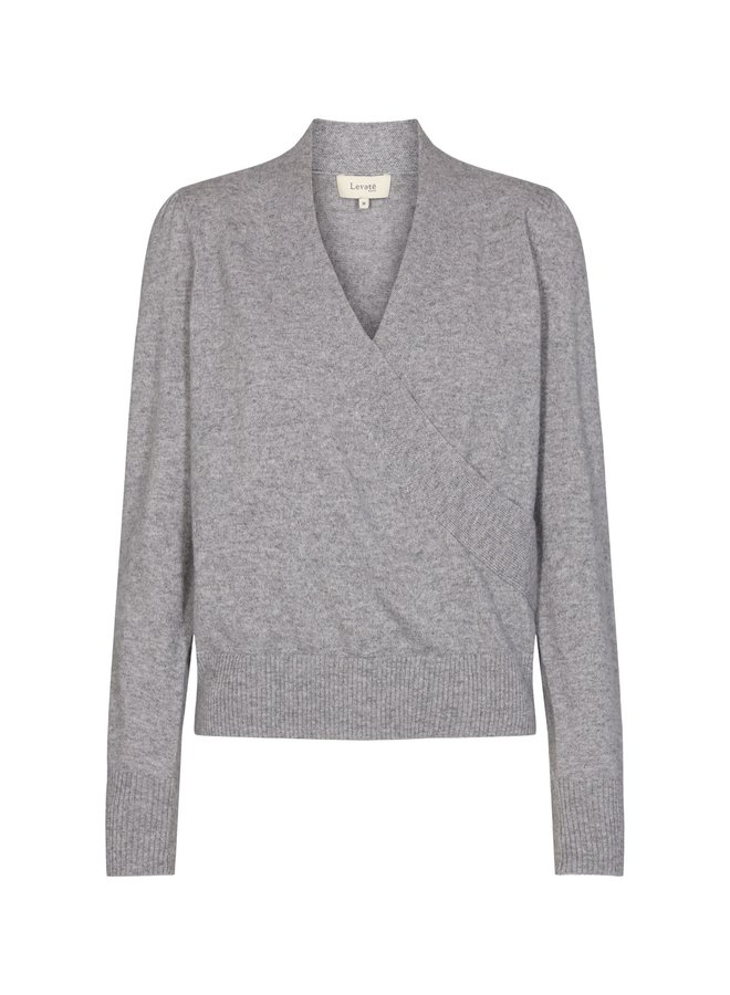 Funda Wrap Pullover - Grey