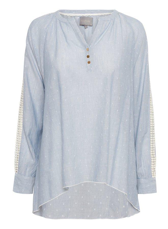 Ega Shirt - Blue Fog