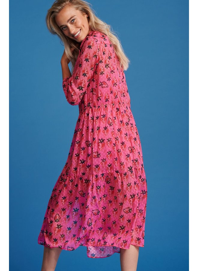 Strawberry Dress - Pink