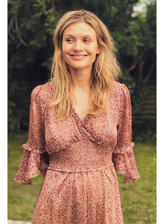 Patricia Dress - Dot Print