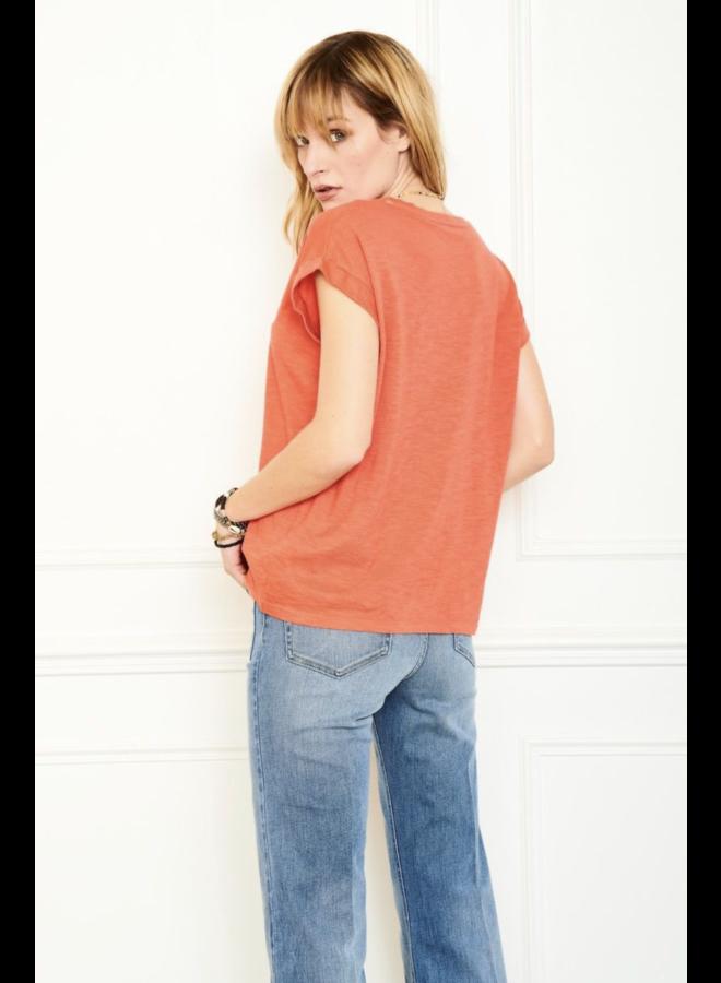 Tiara Blondie Tee - Orange