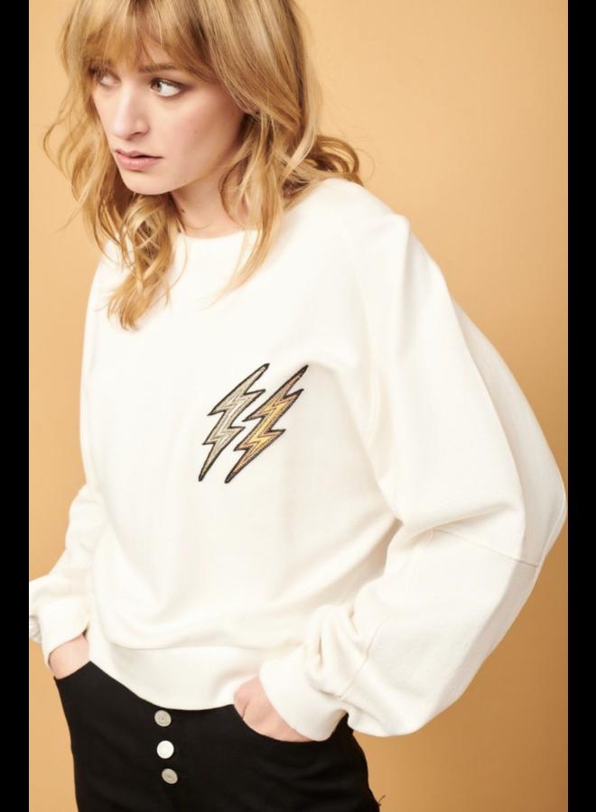 Samil Lightning Sweater - Craie