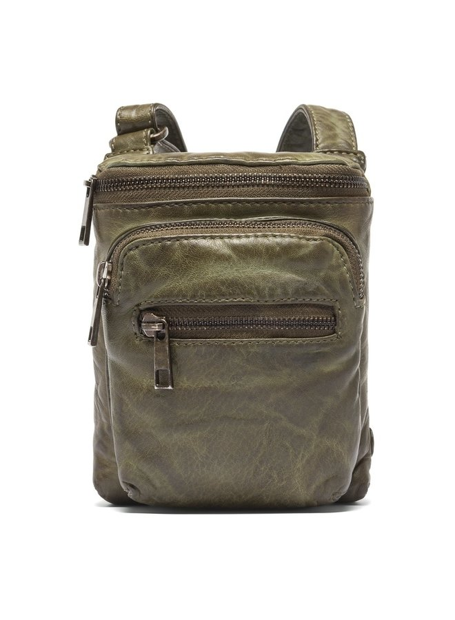 Mobile Bag with Front Pocket - Army Green