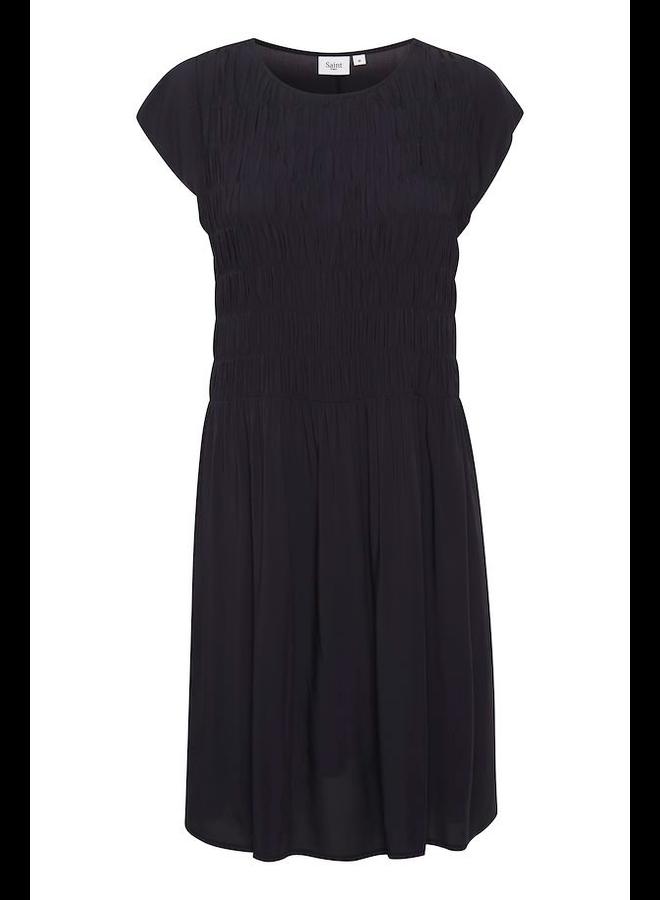 Gisla Dress - Blue Deep